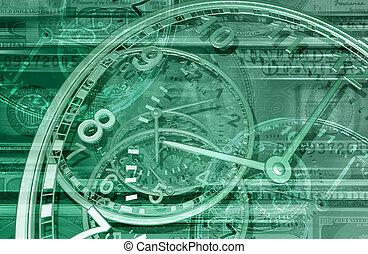 お金, bg, 時間, 01