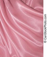 かけられた, ピンク, 絹, 背景