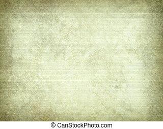 からかわれた, 羊皮紙, 背景