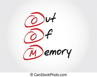 から, 記憶