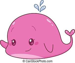かわいい, クジラ
