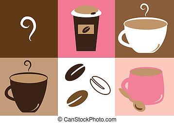 かわいい, コーヒーマグ