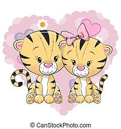 かわいい, トラ, 2