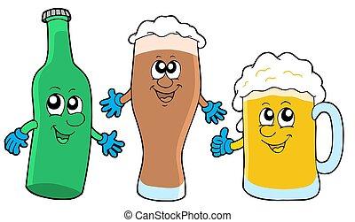 かわいい, ビール, コレクション