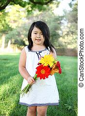 かわいい 女, ∥で∥, 花