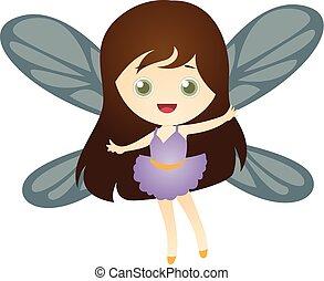 かわいい, 妖精, 空想