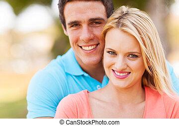 かわいい, 屋外のカップル