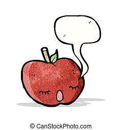 かわいい, 歌うこと, アップル, 漫画