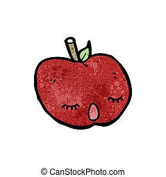 かわいい, 漫画, アップル