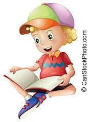 かわいい, 読書, 子供