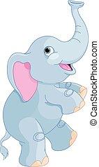 かわいい, 象