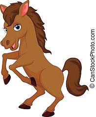 かわいい, 馬, 漫画