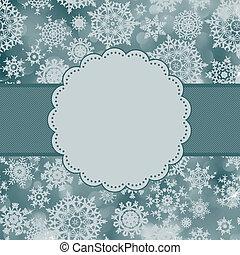 かわいい, card., 色, eps, 8, クリスマス