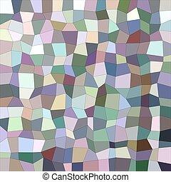 きずもの, 多色刷り, 長方形, 背景, モザイク