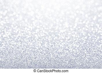 きらめき, 銀, 背景, textured