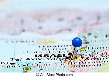くぎ付けにされた, 地図, ∥電話番号∥, アジア, aviv