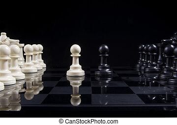 こう着状態, チェス, ポーン