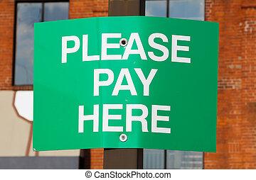 ここの支払, 印