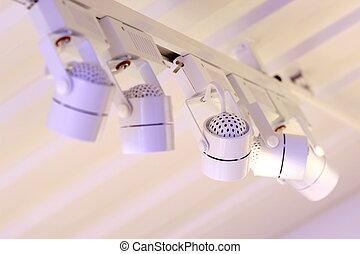 こつ, 天井ランプ, 小さい