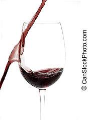 こぼれること, ワイン