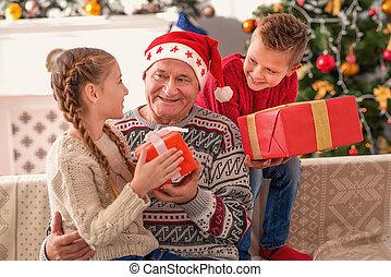 これら, 贈り物, 私, 孫