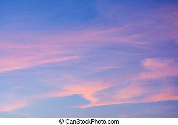 これ, 気持が良い, sunset., いつか, 夕方の時間, たそがれ, 空, ∥それ∥, ∥あるいは∥, 弛緩, 見なさい