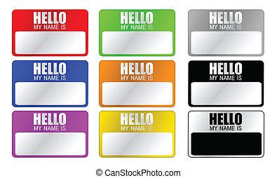 こんにちは, 私, 名前