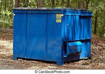 ごみ, dumpster