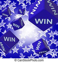 さいころ, 選手権, 背景, 提示, 勝利