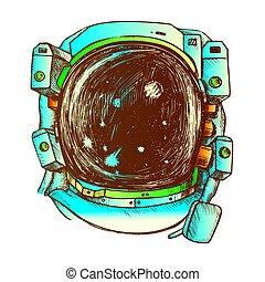 さらされること, ベクトル, 色, スーツ, スペース, 宇宙飛行士