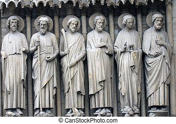 さらに少なく, bartholomew, ジェームズ, アンドリュー, peter., ジョン, サイモン
