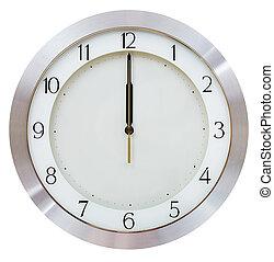 さらに, 12, 時計, 真夜中, -, o