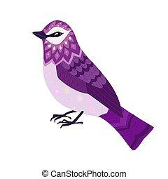 すてきである, デザイン, あなたの, 鳥