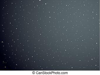 すてきである, 空, 背景, 夜