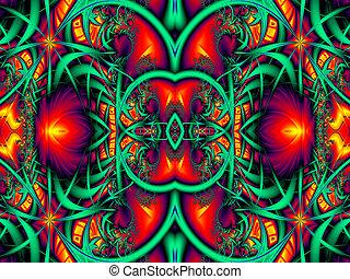 すばらしい, カラフルである, 抽象的, バックグラウンド。, アートワーク, ∥ために∥, 創造的, デザイン,...