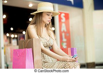 すべての女性, 買い物, お金, 悲しい, 費やしなさい