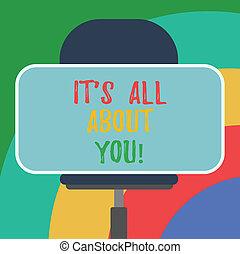 すべて, 写真, ステッカー, それ, 感情, 形, ブランク, ポジティブ, 感情, 執筆, chair., 表現, テキスト, 概念, you., 旋回装置, ビジネス, モデル, roanalysistic, 提示, 手, について, 長方形, s