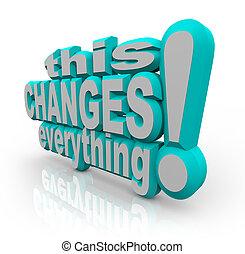すべて, 改良しなさい, 変化する, 展開させなさい, 作戦, 言葉, これ
