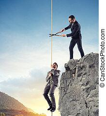 ∥そうする∥, 概念, 助け, 不公平である, 競争, competitor., ビジネスマン