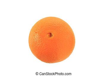 そっくりそのまま, オレンジ, 上に, ∥, 白い背景