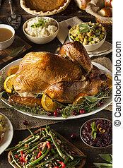 そっくりそのまま, 手製, 感謝祭トルコ