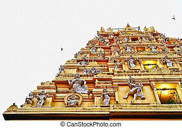 そびえ立つ, vimana, ヒンズー教信徒, 神