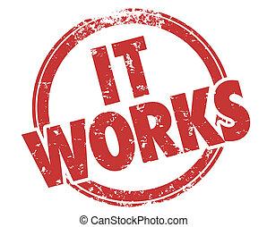 それ, 効果的である, 作戦, 切手, 仕事, グランジ, 計画, 赤, アドバイス