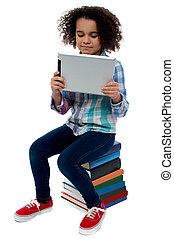 ∥それ∥, 非常に, 容易である, 勉強するために, 中に, tablet.