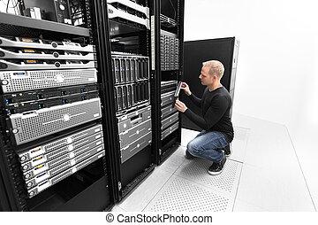 それ, datacenter, san, 仕事, コンサルタント