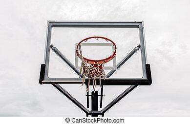 たが, バスケットボール, 空, 背景