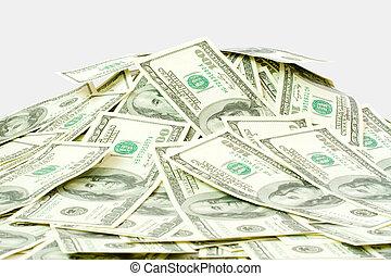 たくさん, の, お金