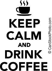 たくわえ, コーヒー 飲み物, 冷静, カップ
