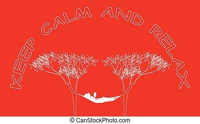 たくわえ, 冷静, リラックスしなさい