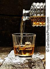 たたきつける, スコットランド, ∥あるいは∥, ウイスキー